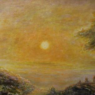 Долина освещенная солнцем