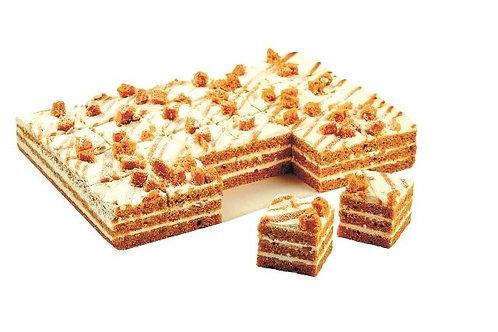 Торт-птифур Морковный Кристоф 2 кг/48 порций
