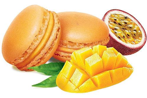 Пирожное Макаронс с манго-маракуйя 64 шт х 12 г