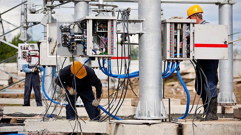 Электромонтажные работы на нефтяных месторождениях