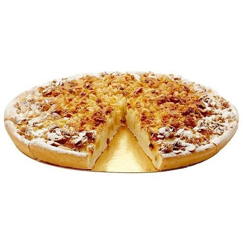 Пирог постный яблочный с овсяными хлопьями 1,4 кг/12 порций