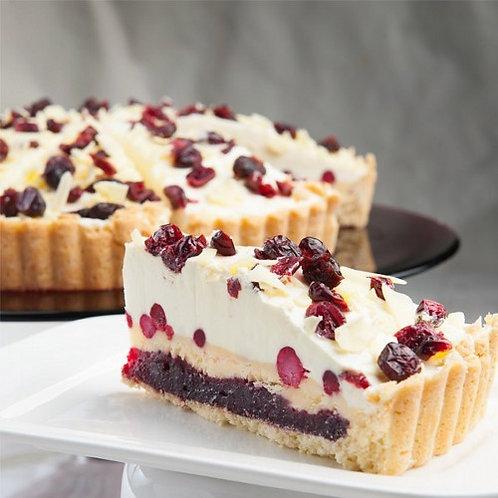 Торт Брусничный с белым шоколадом Десерт Фентези 1,5 кг/12 порций