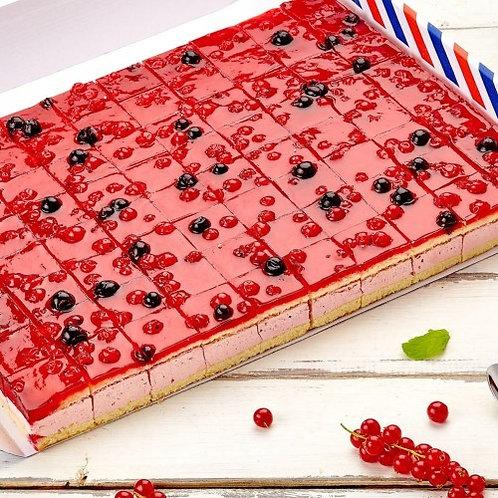Торт-птифур Ягодный блюз Кристоф 2 кг/70 порций