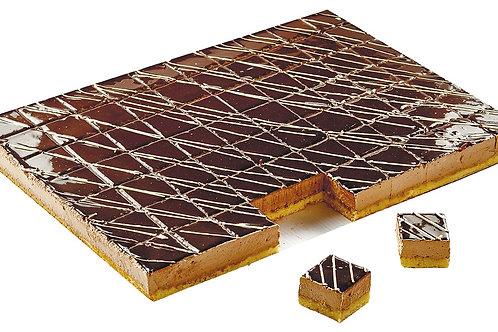 Торт-птифур Шоколадное зеркало Кристоф 2 кг/70 порций