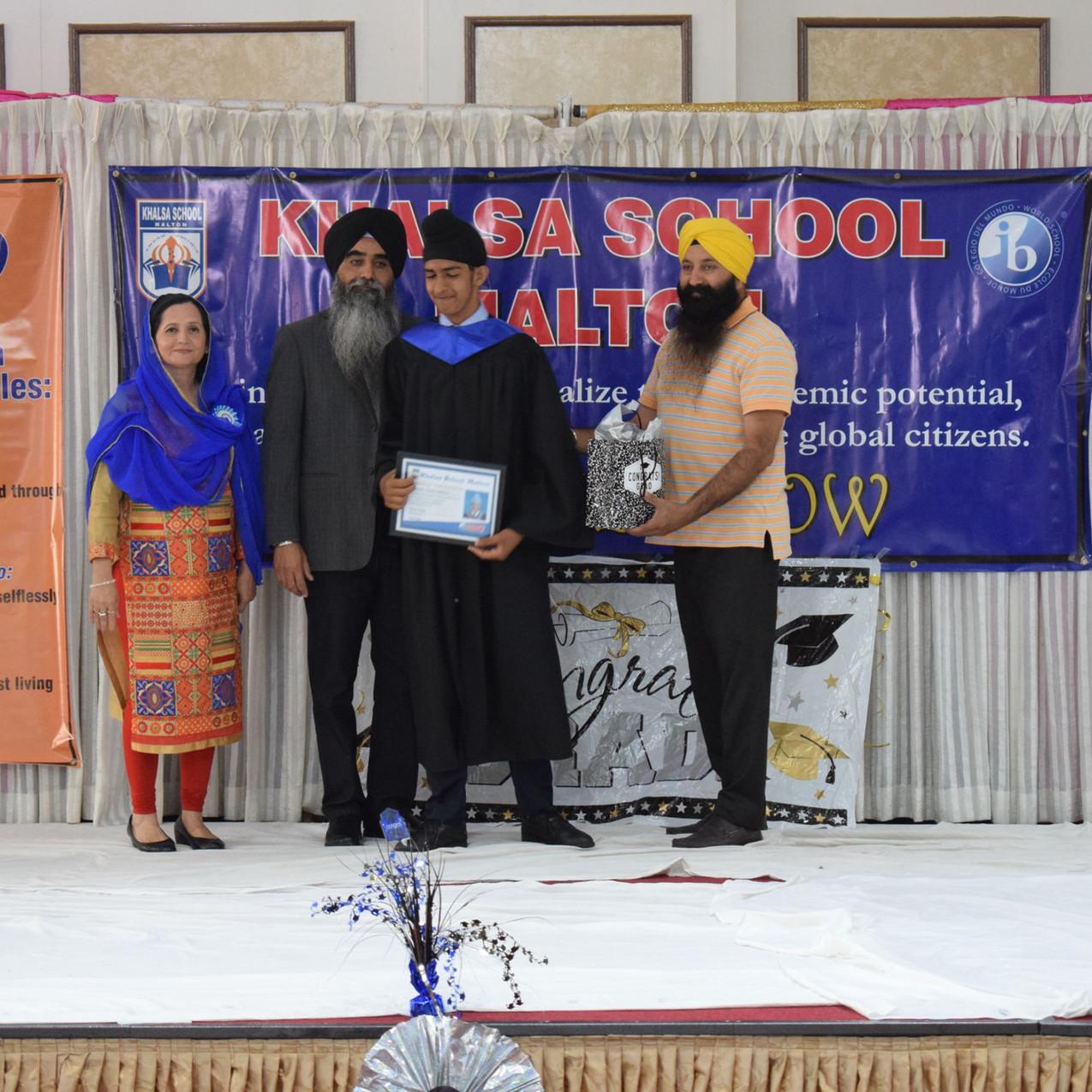 Khalsa School Malton Graduation Day