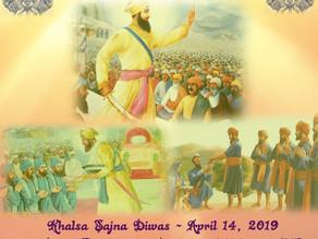 Khalsa Sajna Diwas 2019