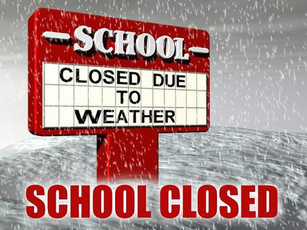 School buses are cancelled but school will remain open