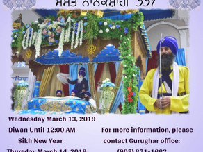 Sikh New Year Samvat 551