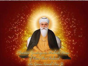 Guru Nanak Dev Ji Gurpurab Holiday