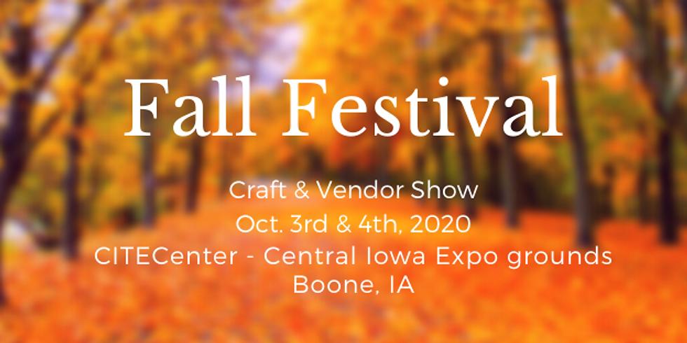 Fall Festival Craft and Vendor Show