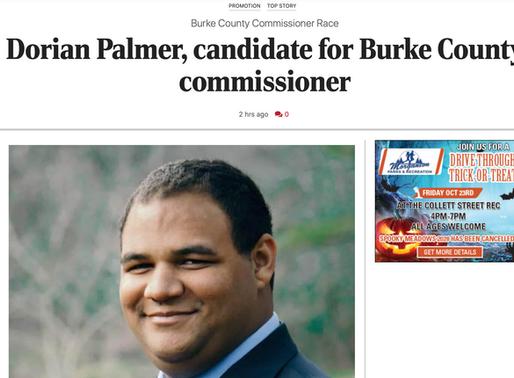 Palmer Candidate Profile - Morganton News Herald
