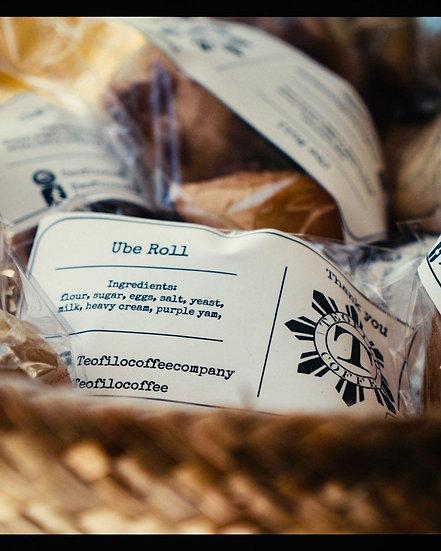 Baked Goods - Ube Strudel