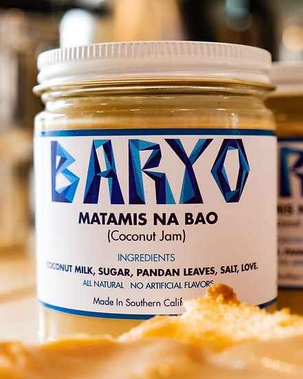 Matamis Na Bao (Coconut Jam) Jar (9 oz)