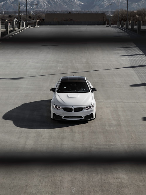 BMW M4 competition (front)