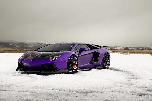 Stradman Purple Aventador
