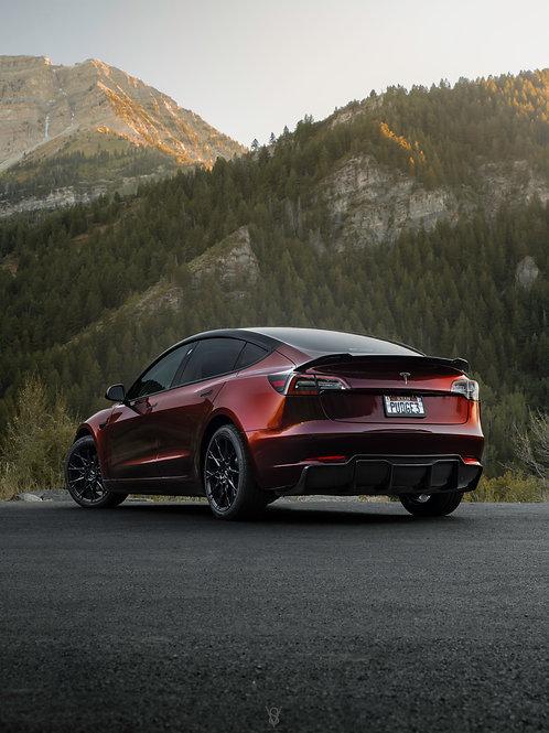 Tesla Model 3 (rear)