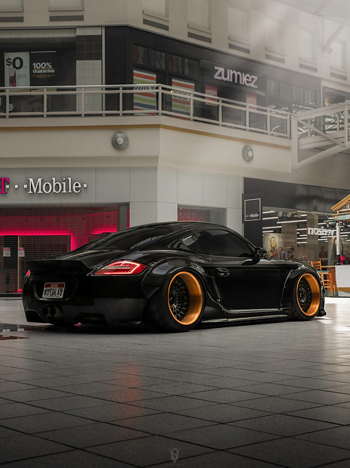 Porsche Mall Shoot