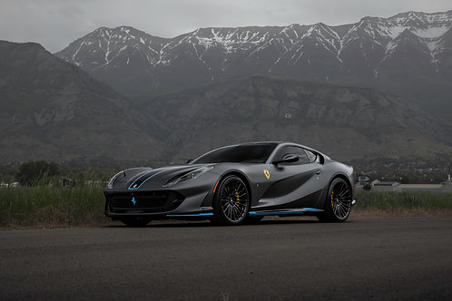 Ferrari 812 SuperFast Mountains