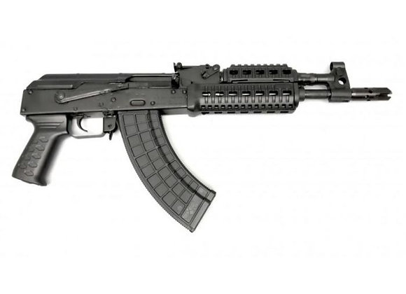 "M+M Inc M10 AK-47 Pistol - Black | 7.62x39 | 12"" Barrel 