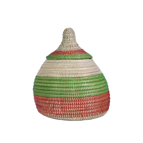 Medium Egg Shaped Basket with Bulb Top