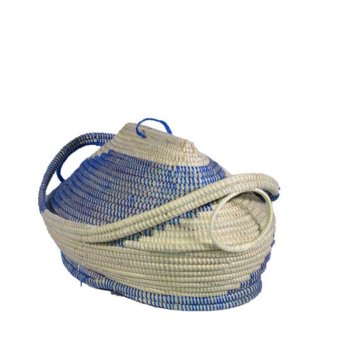 Large Oval Basket with Side Handles