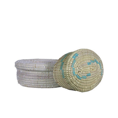 Small Oval Flat Top Basket