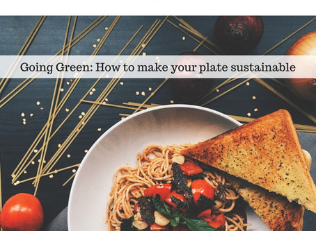 Want to go green? Start with your plate