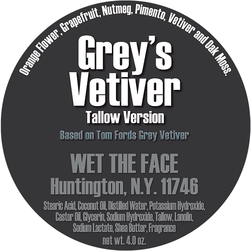 Tallow Grey's Vetiver