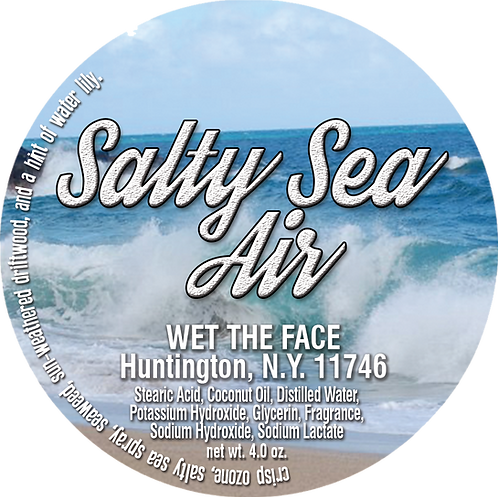 Salty Sea Air Shaving Soap