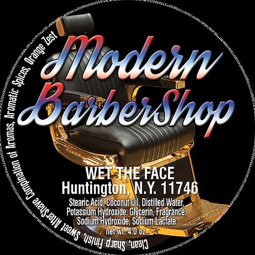 Modern BarberShop Shaving Soap