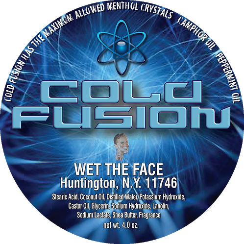 Cold Fusion Shaving Soap