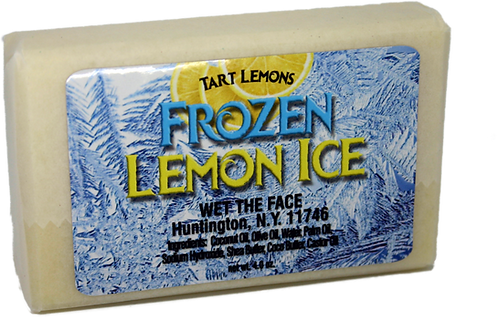 Frozen Lemon Ice Bar Soap 4.0 oz