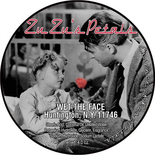 Zu Zu's Petals Shaving Soap