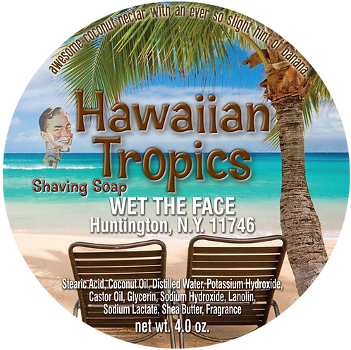 Hawaiian Tropics Shaving Soap