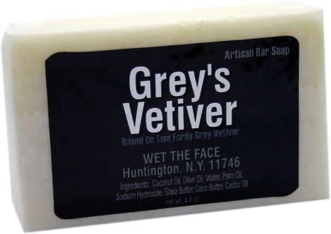 Bar Soap Grey's Vetiver  4.0 oz