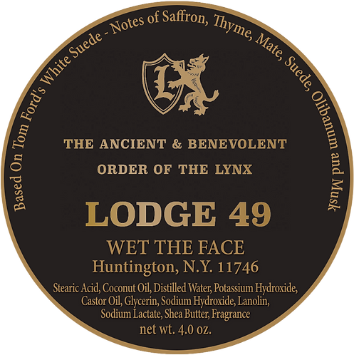 Lodge 49 Shaving Soap