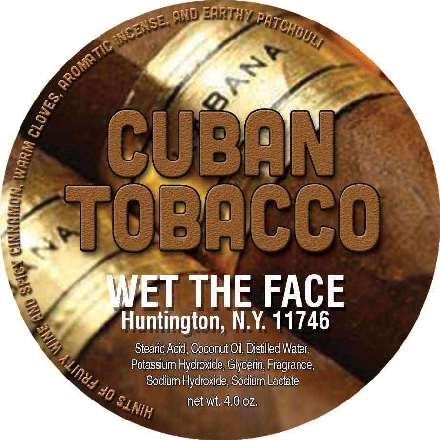 Cuban Tobacco Shaving Soap 4 0 oz