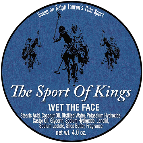 The Sport Of Kings Shaving Soap
