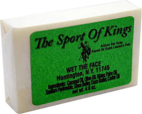 Bar Soap The Sport Of Kings  4.0 oz
