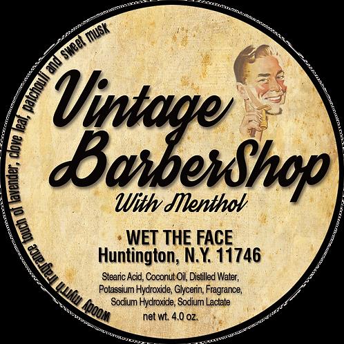 Vintage BarberShop Shaving Soap