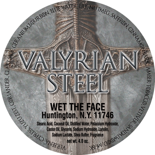 Valyrian Steel Shaving Soap