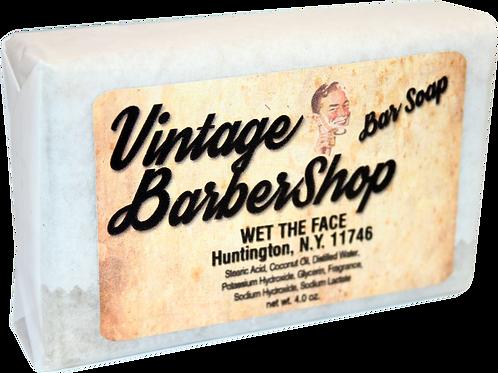 Bar Soap Vintage BarberShop 4.0 oz