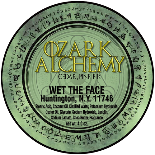 Ozark Alchemy Shaving Soap