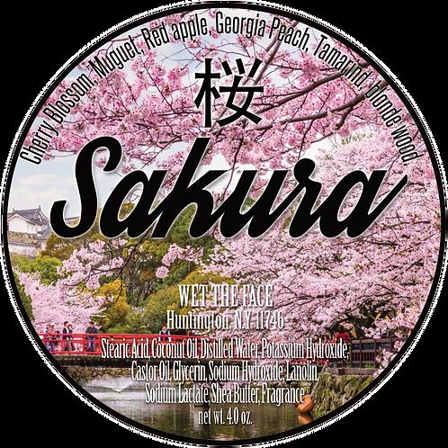 Sakura Shaving Soap