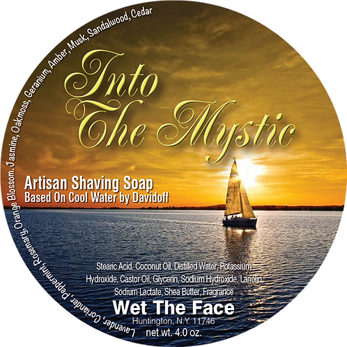 Into The Mystic Shaving Soap