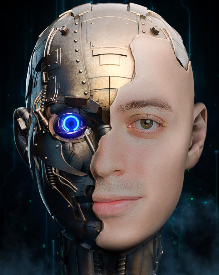 Author of this blog article and skilled QC technician, Kristian Ruiz, featured here as a cyborg.