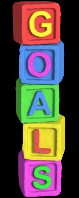 GOALS play blocks