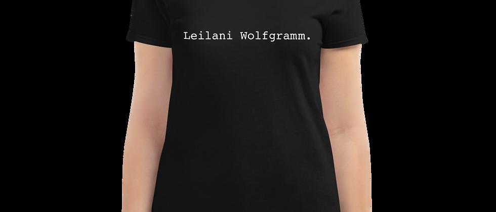 "LEILANI ""TYPE"" Women's short sleeve t-shirt"