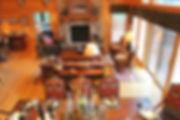 Lake chalet northwoods interior design
