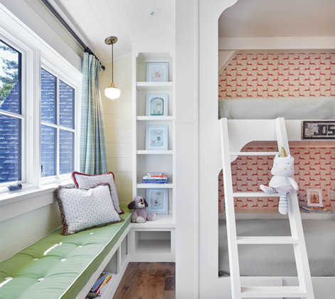 Lake Home Bunk Room Interior Design